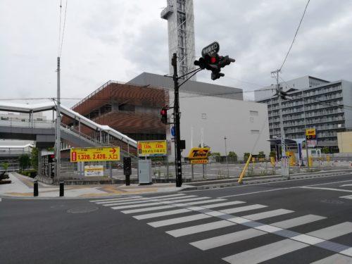タイムズ甲府駅前外観