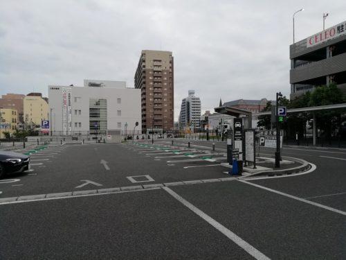 甲府駅南口送迎車専用 外観